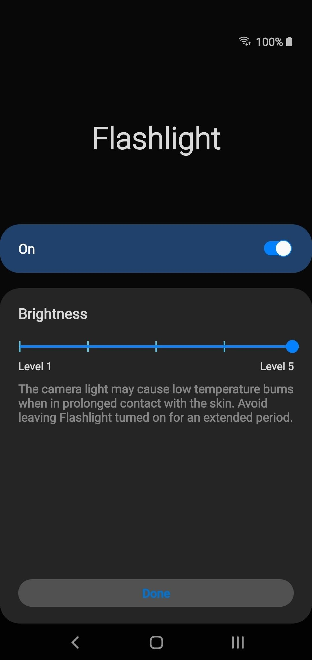 There's an Easy Way to Change Flashlight Brightness on Your Galaxy Phone