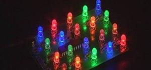 Make an LED light brick