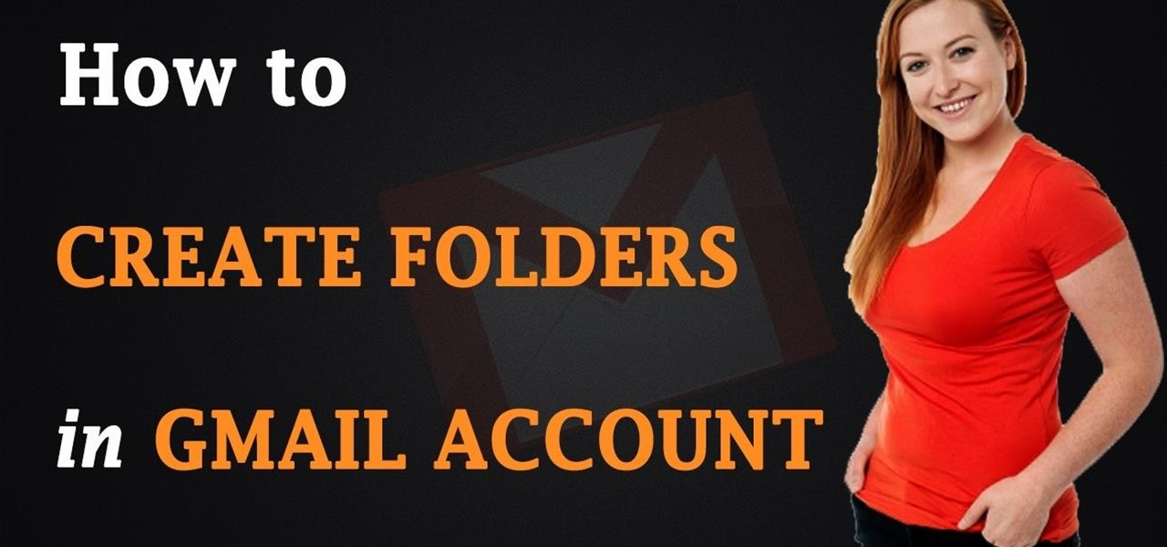 Create Folders in Your Gmail Account