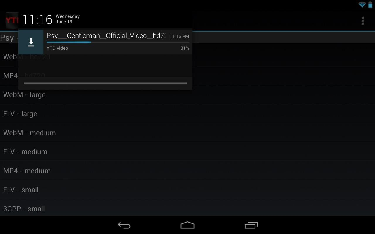Now You Can Save Videos On To Your Nexus 7 Effortlessly Give It A Try And