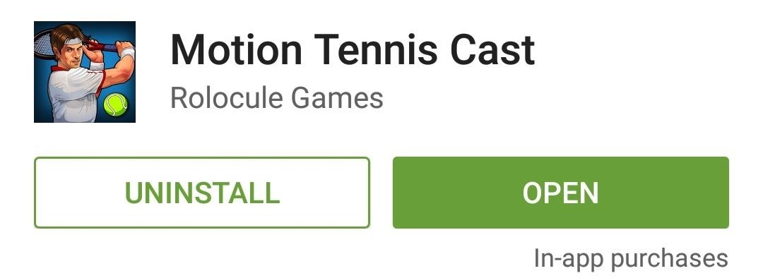 Use Your Android Device as a Wiimote-Style Controller to Play Tennis on Your Chromecast