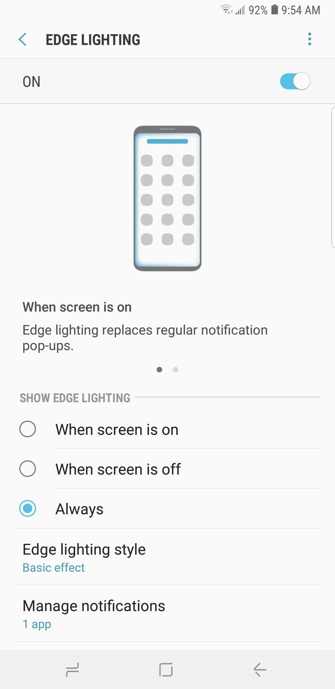 Samsung Android Pie Update: Galaxy devices are getting better with edge lighting