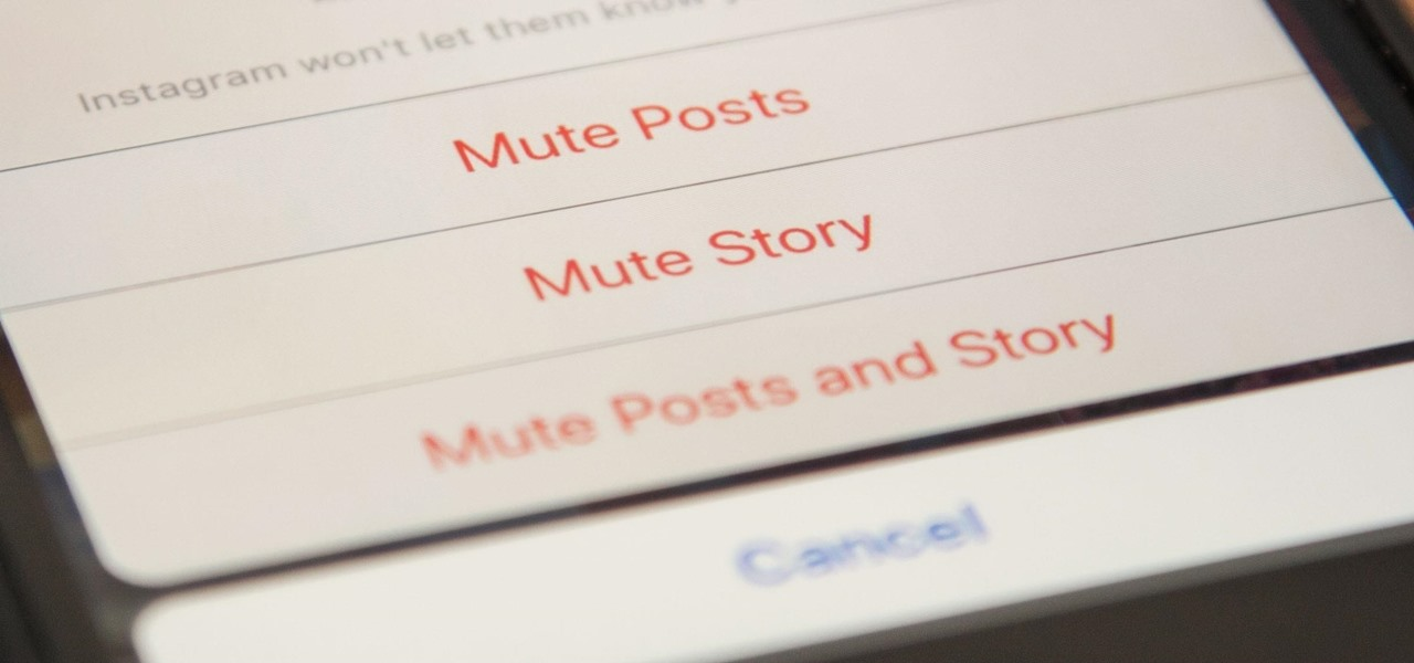 Mute People on Instagram So You Don't Have to Unfollow or Block Them Completely