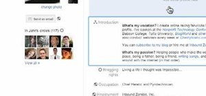 Edit your Google+ profile and privacy settings