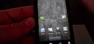 Unroot a Motorola Droid phone and restore it to stock settings
