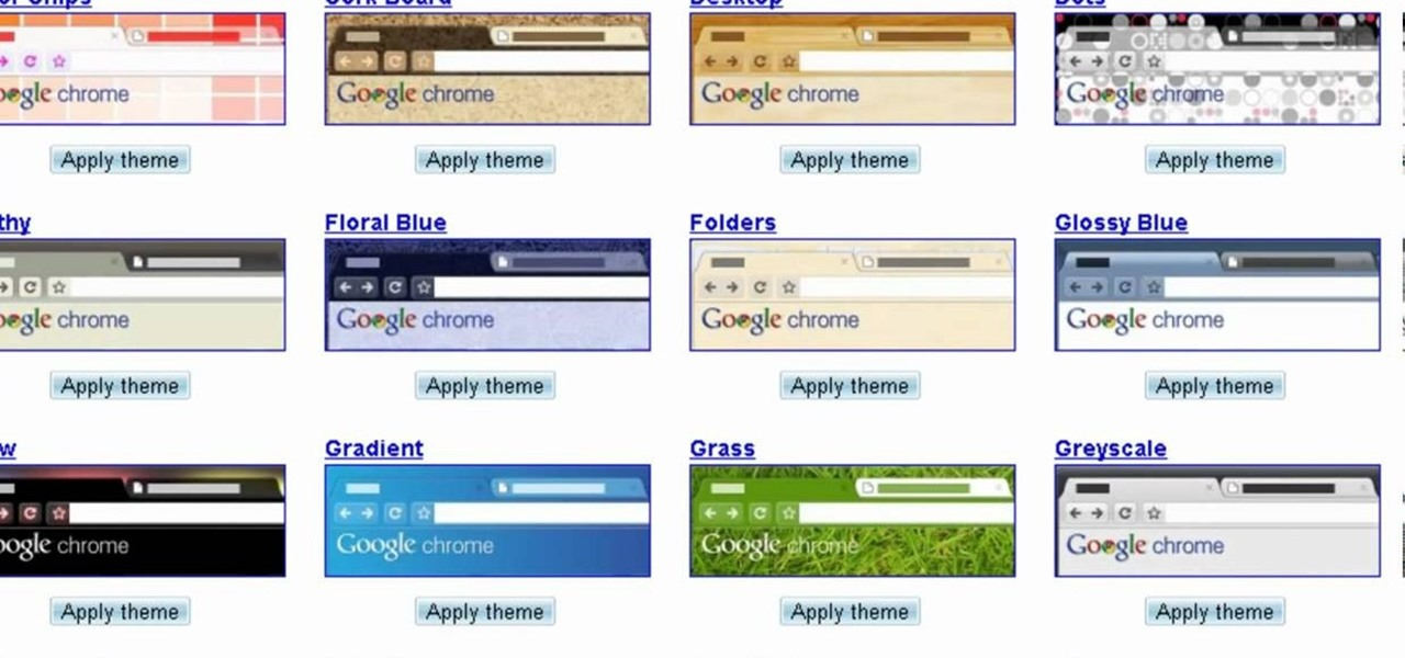 how to change your google chrome theme in twenty seconds or less