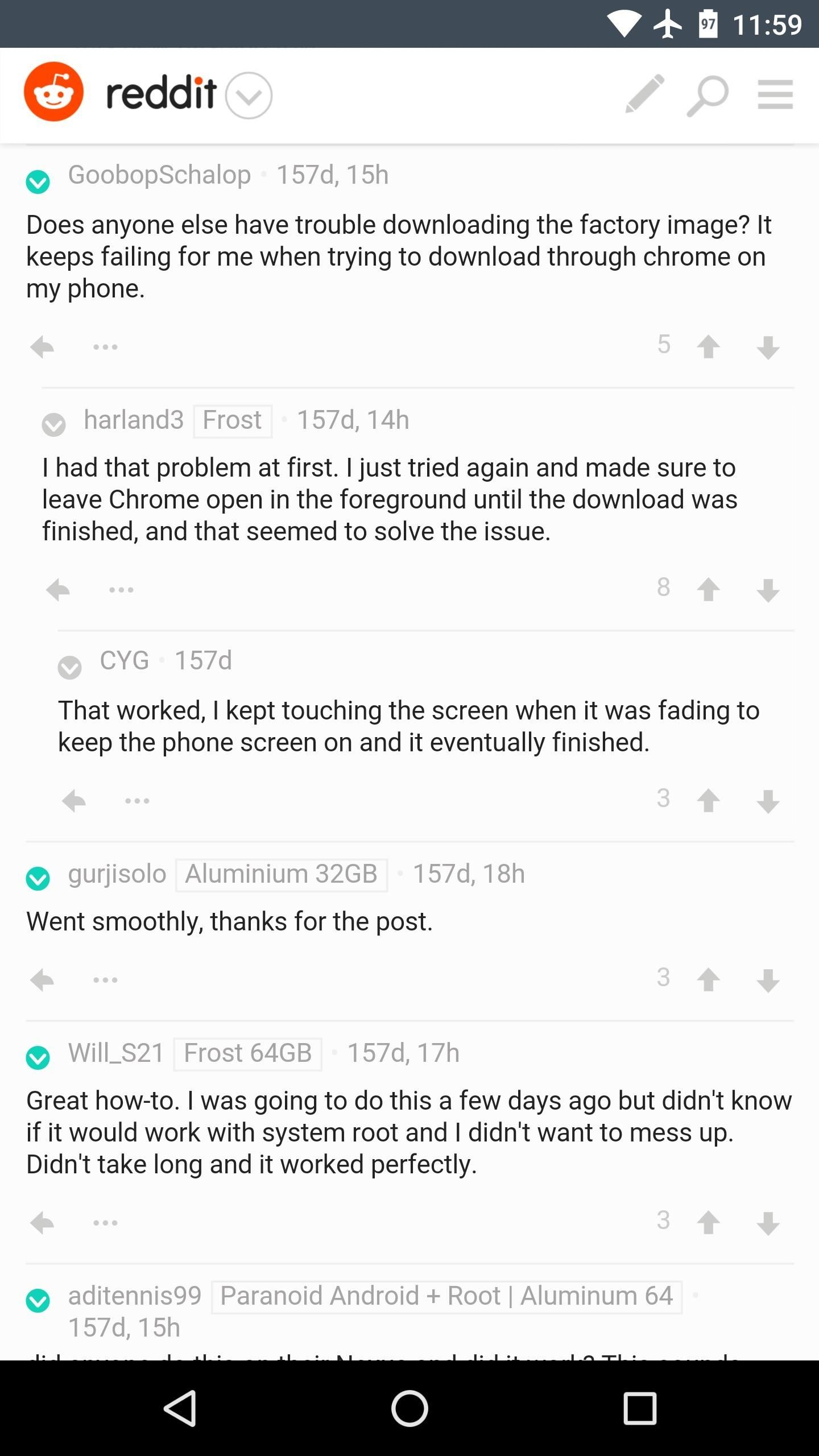 Tap into the Reddit Hivemind's Comments on Any Article « Android