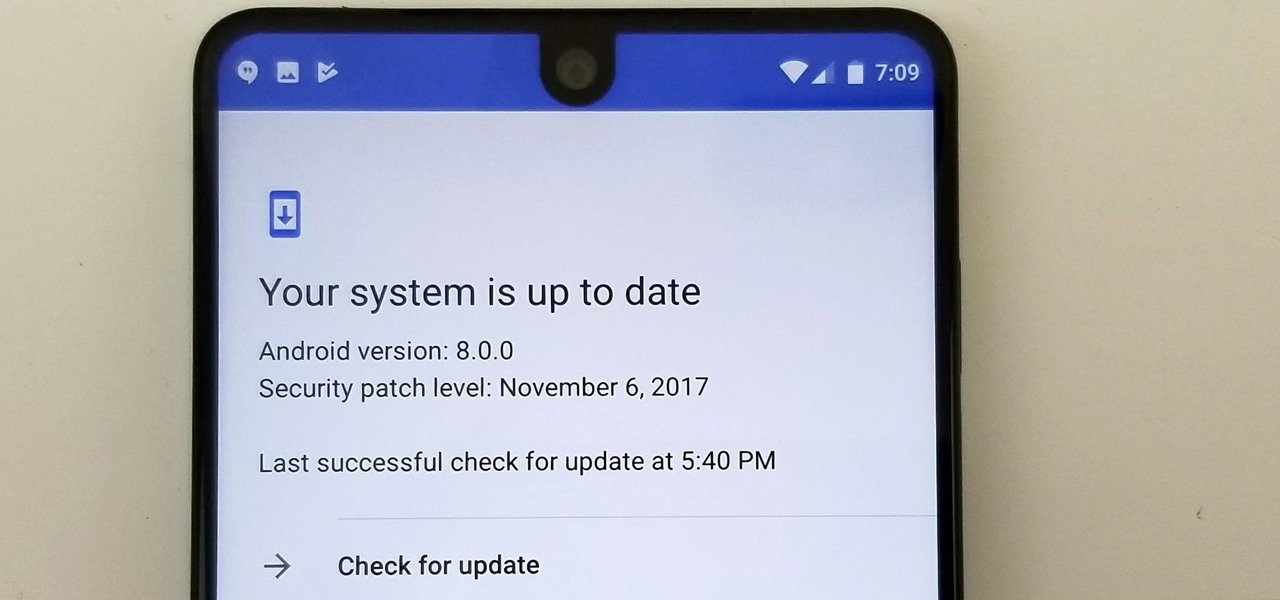 Install the Oreo Beta Update on Your Essential Phone