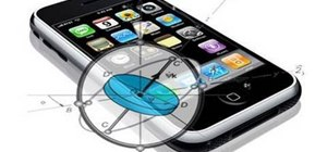 Use the gyroscope feature on games in iPhone 4G HD