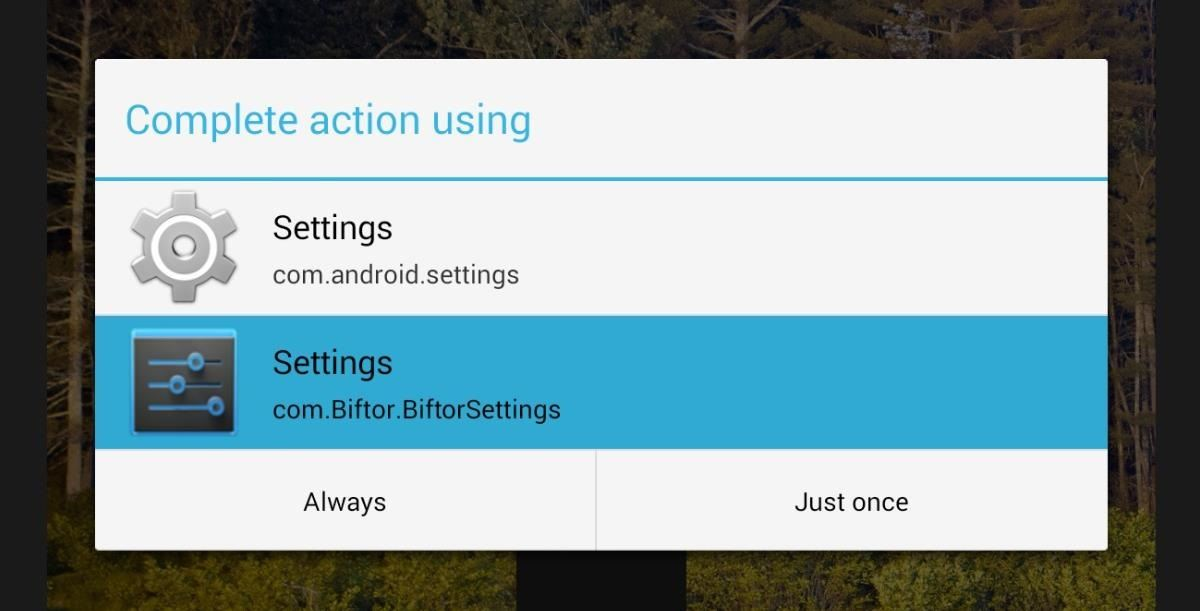 How to Separate the Settings Menu on Your Nexus 7 Tablet into Tabs Arranged by Category