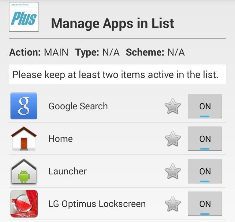 "How to Streamline the ""Complete Action Using"" Dialog Box on Your Nexus 4 or 5"