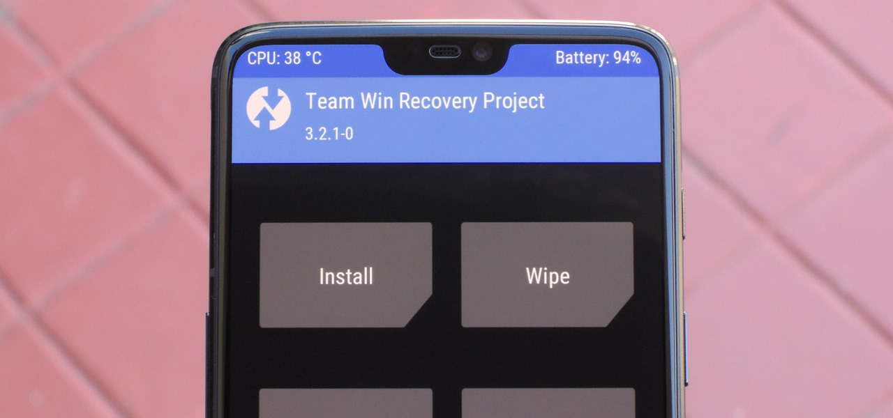Install TWRP Custom Recovery on Your OnePlus 6
