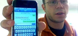 Send video from your iPhone 3G via MMS