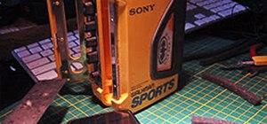 Mod a Sony Walkman Cassette Player into a Retro Apple iPod Case