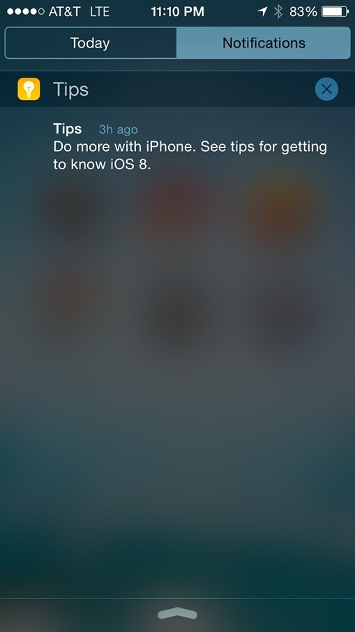 "Apple's New ""Tips"" App Wants to Make Your Transition to iOS 8 as Smooth as Possible"