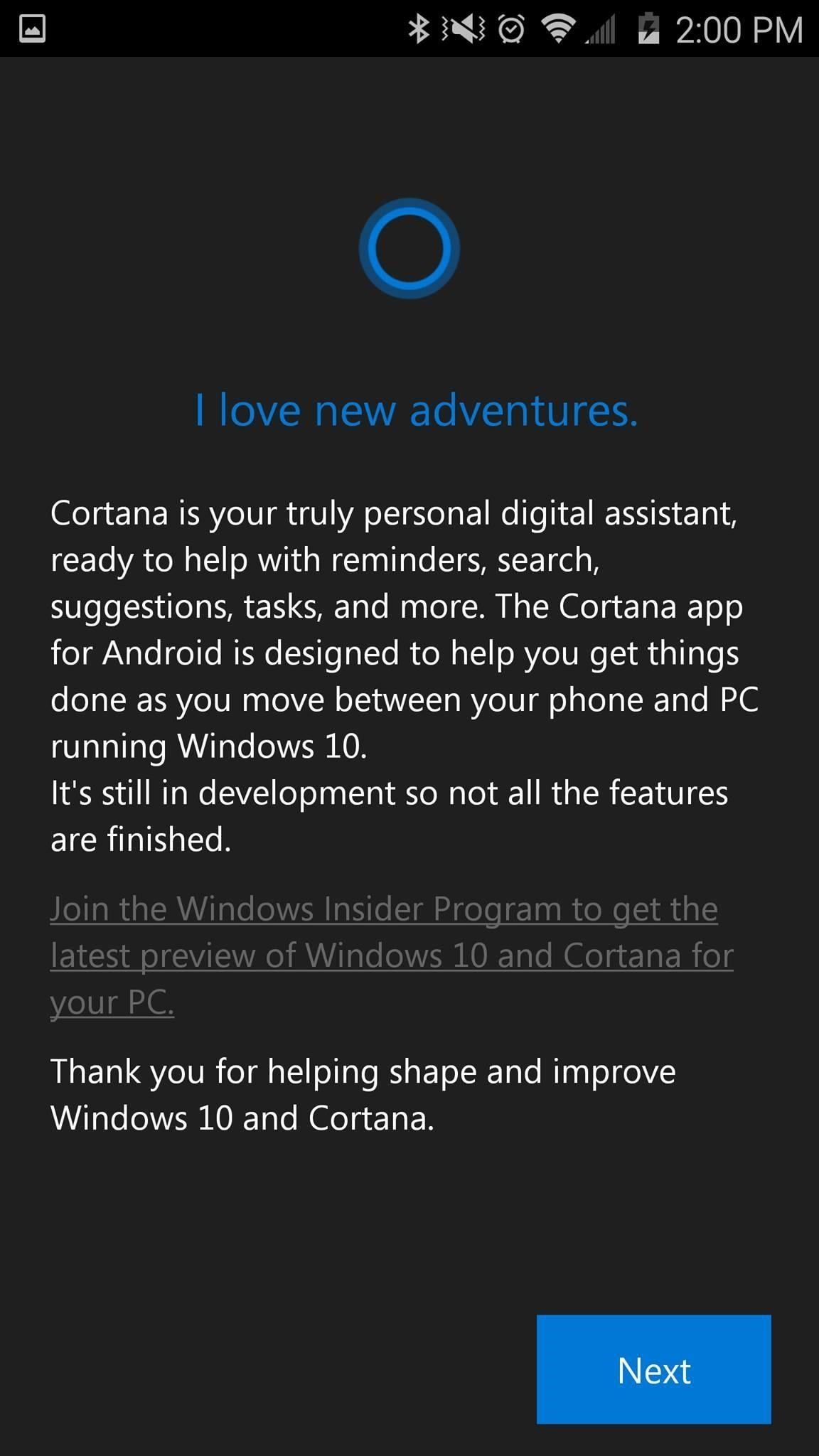 Cortana for Android Has Leaked & Here's How to Install It (Update: It's Now on the Play Store)