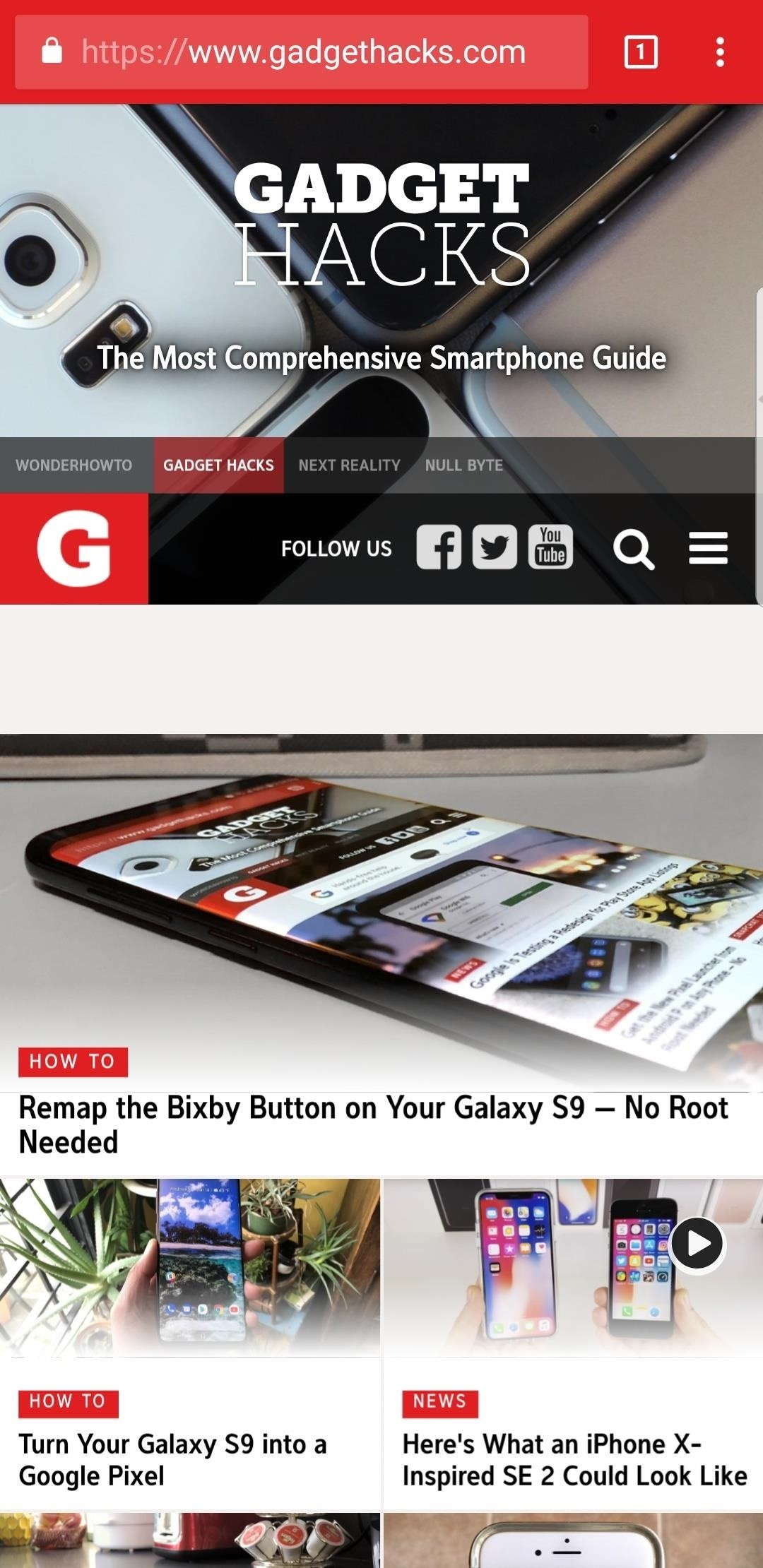 Hide the Navigation & Status Bars on Your Galaxy S9 — No Root Needed