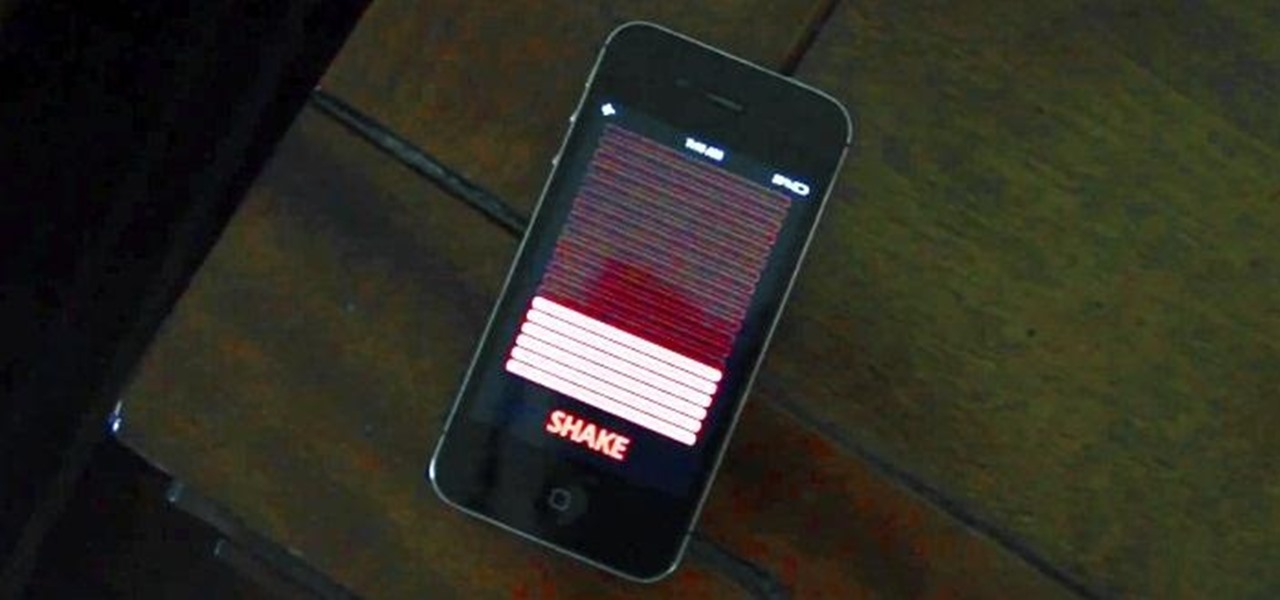 'Wake N Shake' iPhone Alarm Helps You Get Out of Bed Faster by Competing with Friends