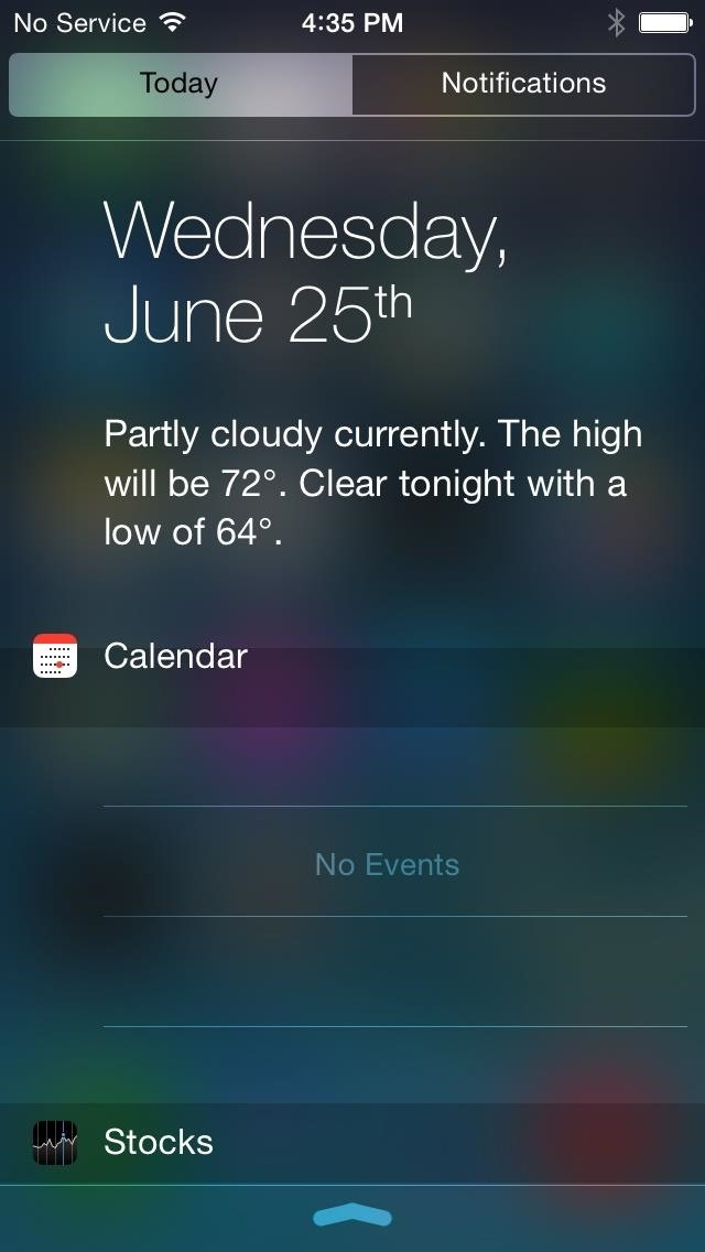 How to Install iOS 8's New Notification Center on iPads & iPhones Running iOS 7