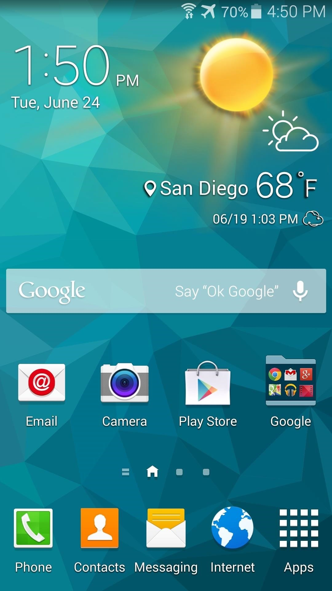 Step 4Reboot For Your New Weather Widget