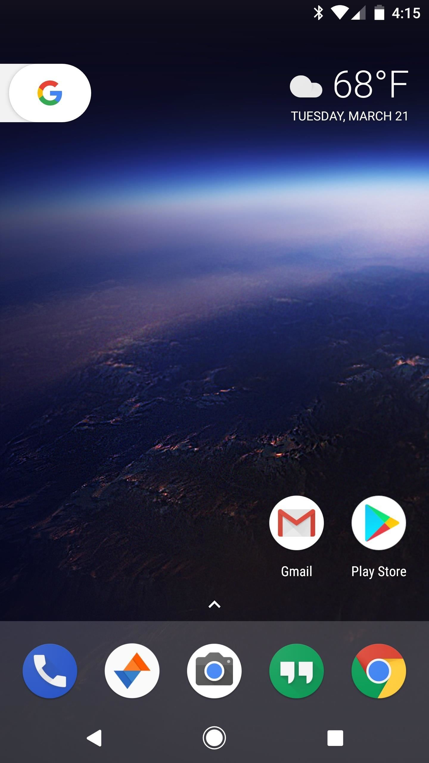 Image result for Android Oreo home screen