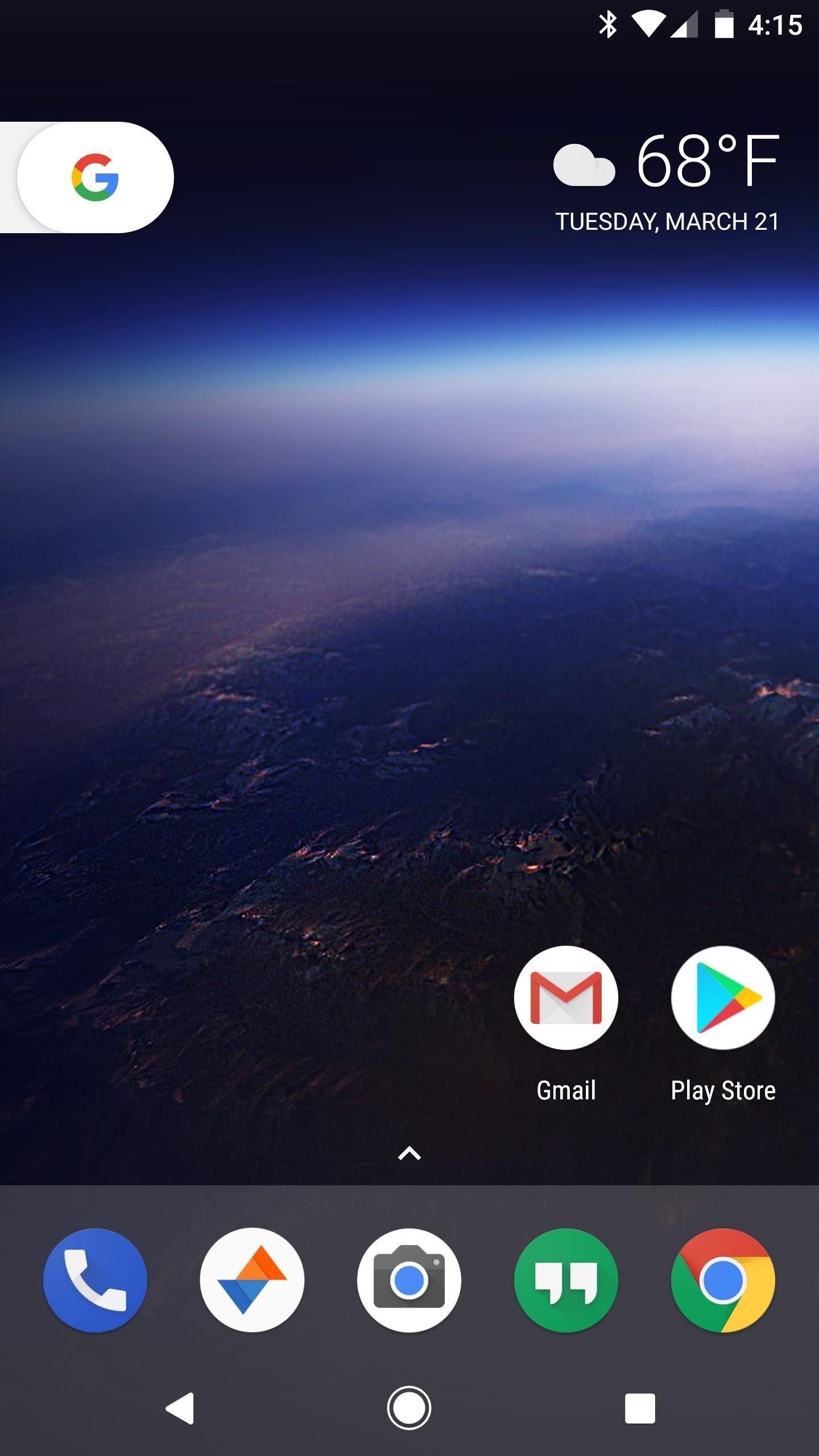 Gmail theme engine - 16pixel Launcher App Drawer Improvements