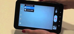Take photos and videos using the camera on the Samsung Galaxy Tab