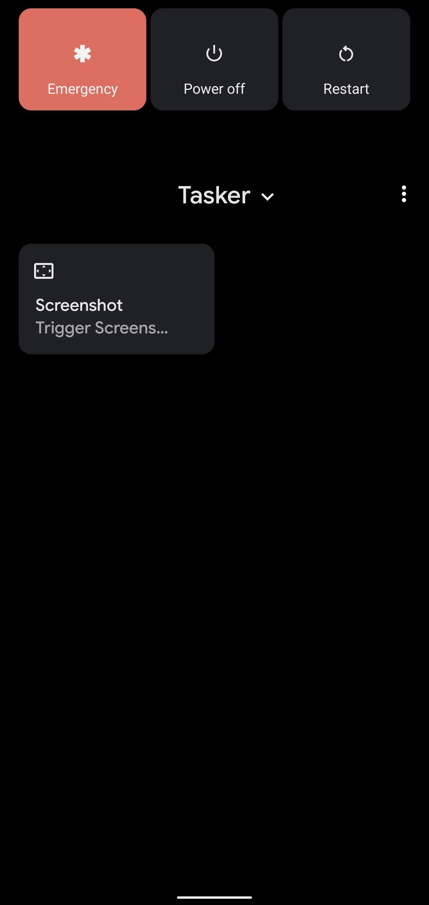 How to take back the screenshot button in your stream menu on Android 11