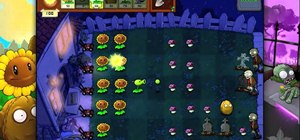 Beat level 2-1 of Plants vs Zombies HD for the iPad