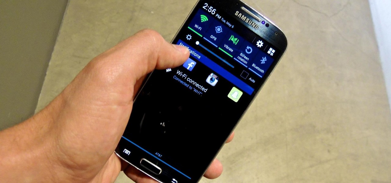 Put App Shortcuts in Your Galaxy S4's Notification Tray for Faster Access from Anywhere
