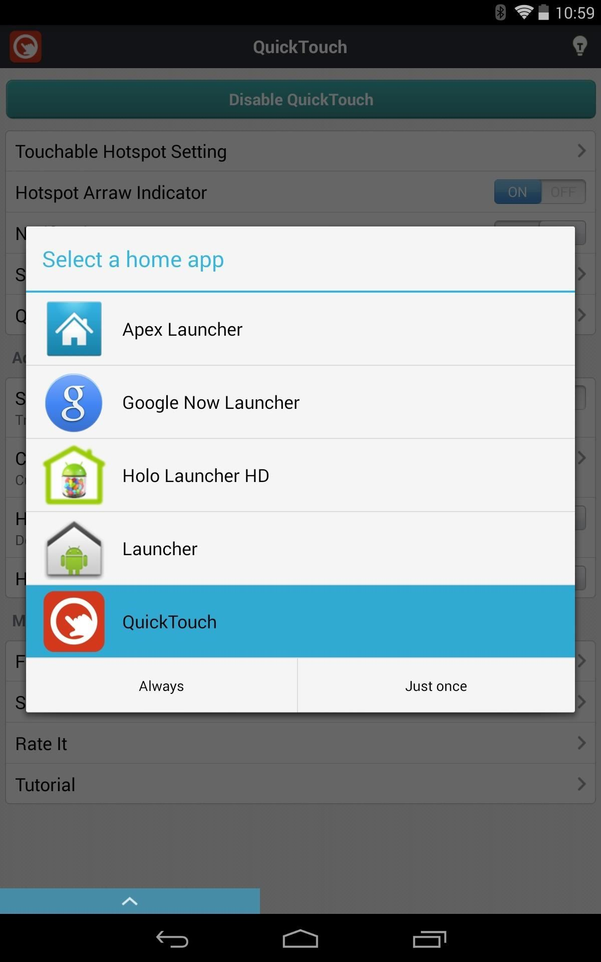 How to Add Thumb-Friendly Quick Settings to Your Nexus 7 Tablet