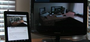 Play iPad video on a television or external monitor