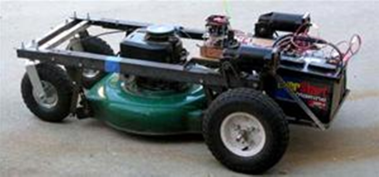 Remote Control Your Lawn Mower « Hacks, Mods & Circuitry