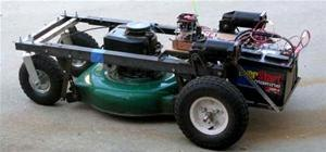 Remote Control Your Lawn Mower
