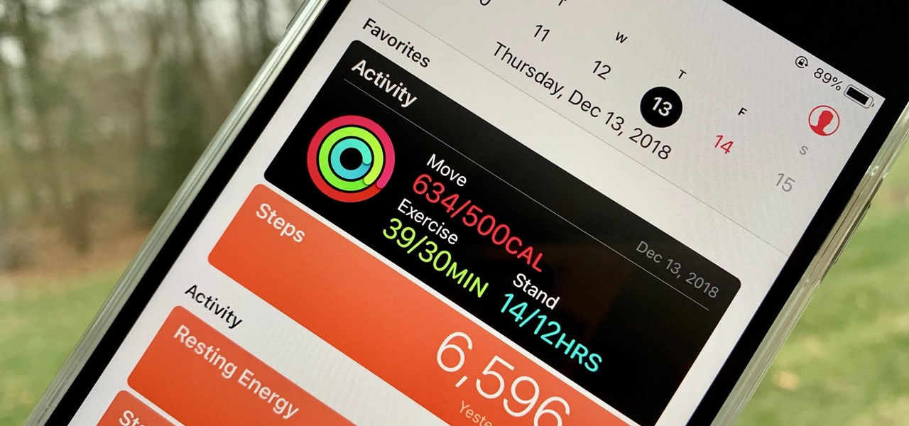 Figure Out Your Total Calorie Burn in Apple's Health App