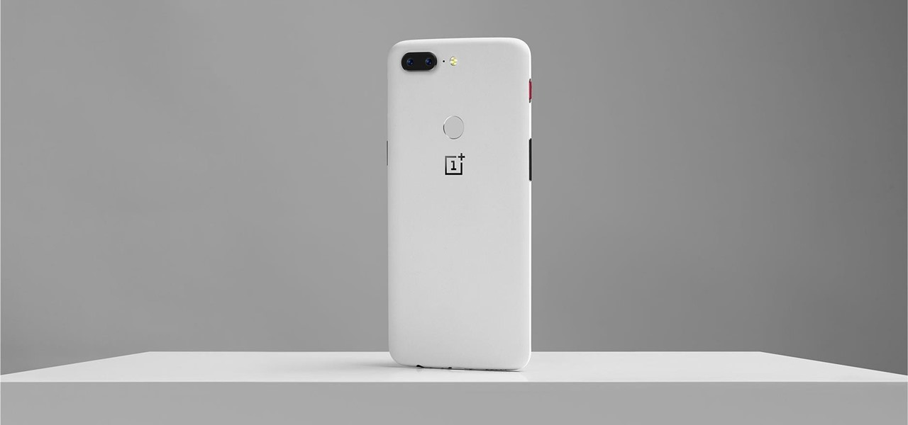 The OnePlus 5T's New Sandstone White Color Already Sold Out in the US