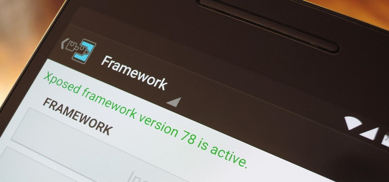 Install the Xposed Framework on Android 6.0 Marshmallow Devices