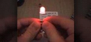 Make an LED throwie