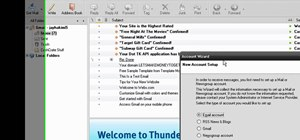 Set up your Gmail account in Mozilla Thunderbird