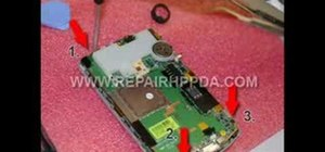 Disassemble an HP iPAQ 6900 series PDA