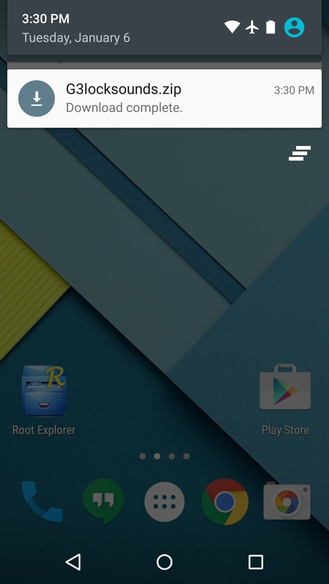 Get the LG G3's Lock & Unlock Sounds on Your Nexus Device