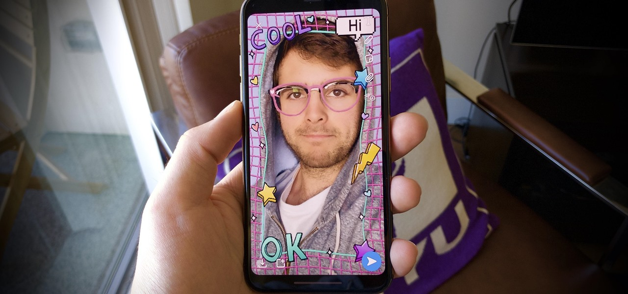 Find 3D Snapchat Filters for New Effects with Your iPhone's Face ID Camera