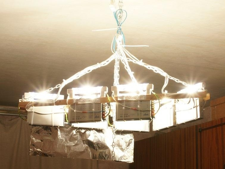 Light Up Your Whole House with This DIY 'Nuclear Explosion' Chandelier