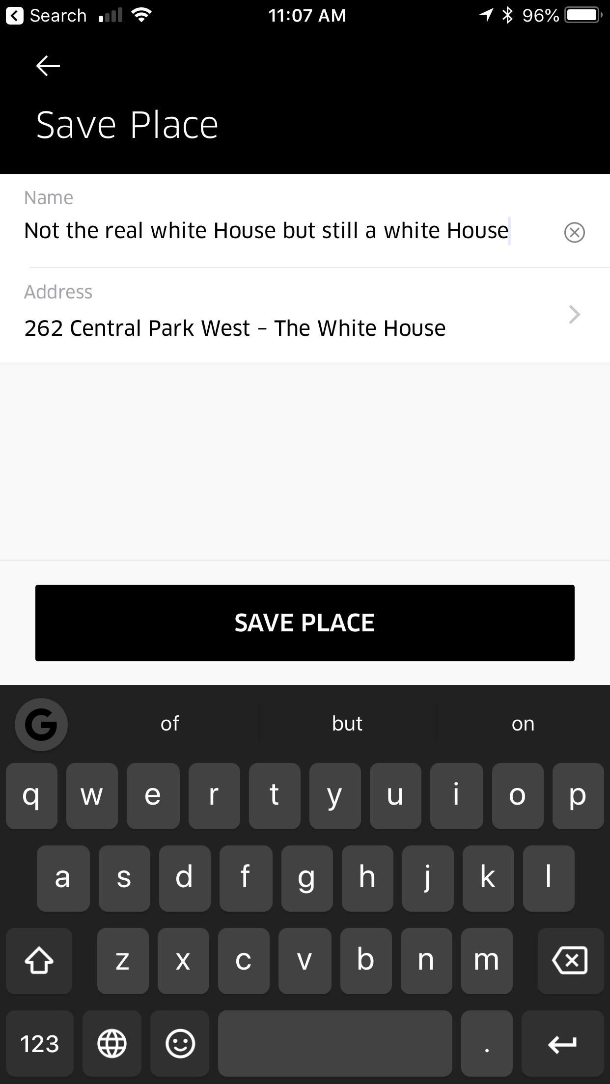 How to Simplify Uber Pickup & Drop-Off by Adding Saved Places to Your Favorites