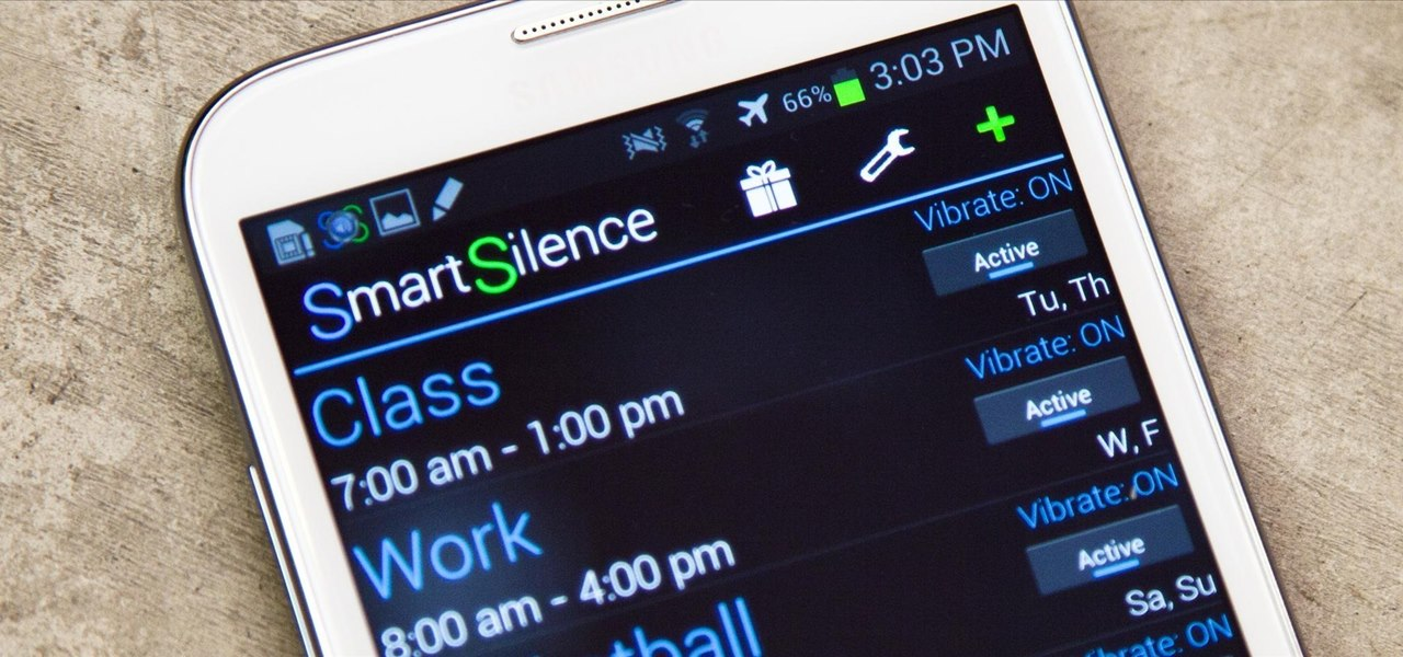 Schedule Ringtone Silence for Weekly or One-Time Events on Your Samsung Galaxy Note 2