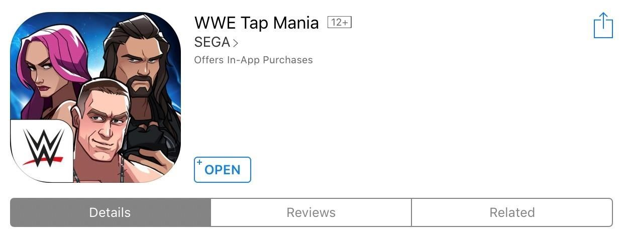 Play 'WWE Tap Mania' on Your iPhone or Android Before It's Officially Released