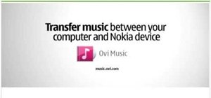 Transfer music between a computer and a Nokia phone
