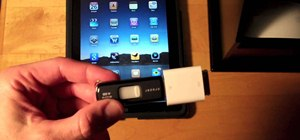 Prepare a USB flash drive to work with an Apple iPad