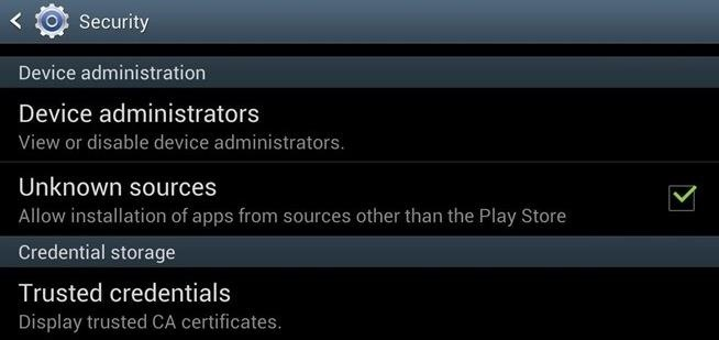 "How to Enable ""Unknown Sources"" on Your Samsung Galaxy S3 to Install Third-Party Apps"