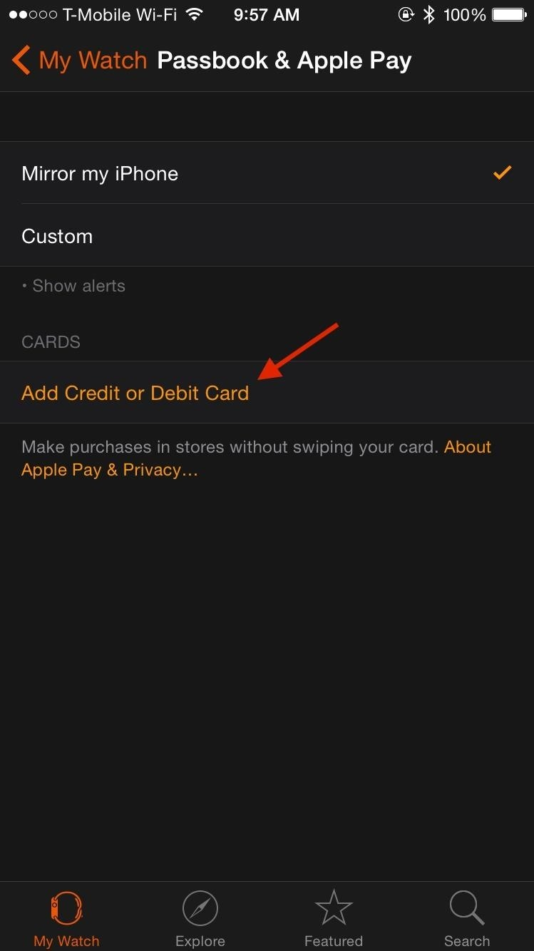 How to Set Up & Use Apple Pay on Your Apple Watch